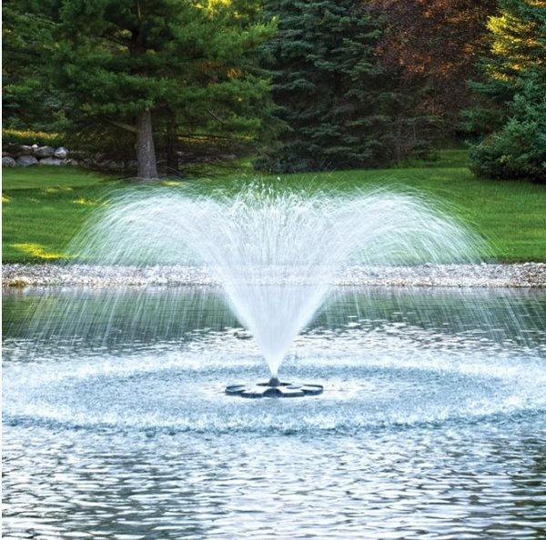Beautiful Floating Fountain For Pond Pool Golf Course Lake Pond Supply Of Canada