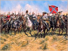 Jackson's Flank Attack - Battle of Chancellorsville By Don Troiani
