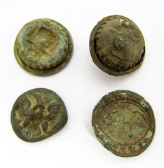 Excavated Buttons - Recovered from Philadelphia