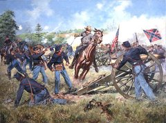 Sword Of Virginia, Battle of Second Manassas By Don Troiani
