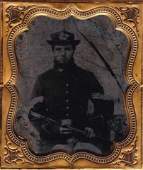 Infantry Sergeant with NCO Sword Sixth Plate Ambrotype