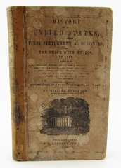 History Of The United States Inscribed By Captain Francis W. Lehew, 17th Virginia Infantry, C.S.A.
