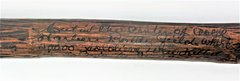 "Inscribed ""Battle of Cold Harbor"" Cane Made by Confederate Captian J. E. Lyne"