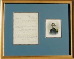 Nathaniel P. Banks Rare War-Date Autograph Letter Signed Dated July 21, 1862