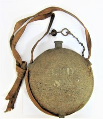 Regimentally Marked Model 1858 Smooth-Side Canteen