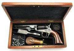 Cased Colt 1849 Pocket Model