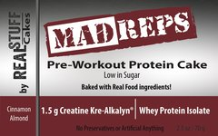 Madreps Pre-workout Protein Cake -  Box of 8 Cakes