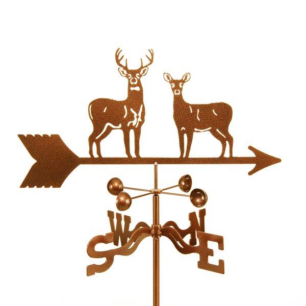 Standing Deer Weather Vane Grill And Garden