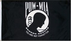 POW/MIA Nylon Double Faced H&G