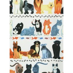 Cats & Dogs Heavy Gift Wrapping - 6 Ft Sheet