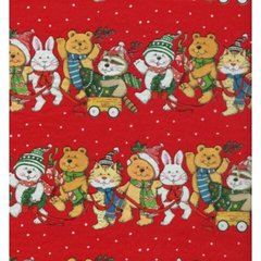 Cuddly Christmas Gift Tissue Paper - 10 Sheets