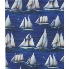Sailboat Gift Wrapping - 6 Ft Sheet