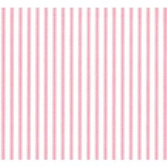 Pale Pink Ticking Tissue Paper - Ten Sheets