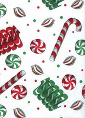 Holiday Sweets Christmas Tissue Paper - 10 Sheets