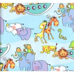 Noah's Arc Childrens Gift Wrap - 6 Foot Sheet