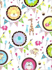 Baby Party Festive Gift Wrapping Paper - 5 Ft Sheet