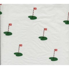 Golf 18th Hole Tissue Paper - Ten Sheets