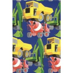 Trucks & Tractors Heavy Gift Wrapping - 6 Ft Sheet