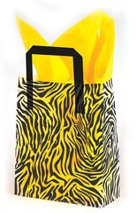 Zebra Hide Frosty Gift Bags - Three Gift Bags