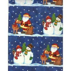 Snow Pals Embossed Gift Wrapping Paper - 6 Ft Sheet