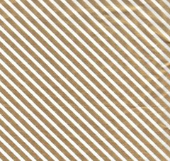 Gold Foil Stripe Christmas Tissue Paper - 10 Sheets