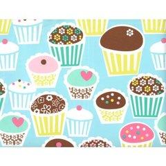 Cute Little Cupcakes Gift Wrapping - 30 Ft Roll
