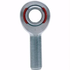 ROD END SUPPLY XM 10-12 HD CHROMOLY NYLAFIBER ROD END 5/8 X 3/4-16