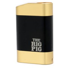 Rig Pig Mechanical Box Mod (Styled) Black & Brass