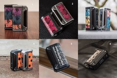 Lost Vape Therion DNA 166W BLACK VERSION *SNAKESKIN*