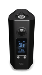 Vapor Shark Hedron 200w Box Mod (Black)