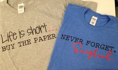 Scrapbook Quote T-Shirts
