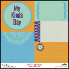 Journal Cards - Lazy Days