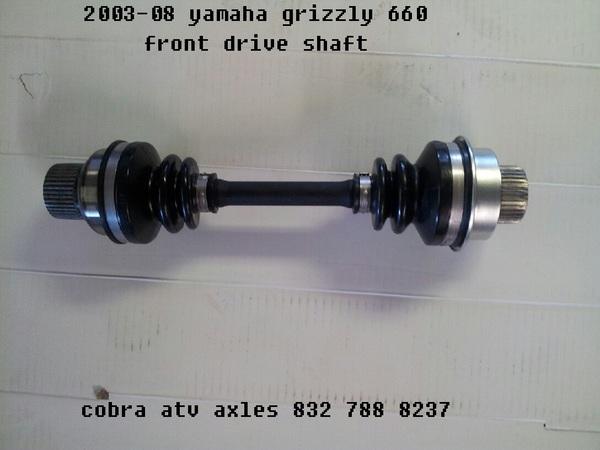 Shop 2003 08 New Yamaha Grizzly 4x4 YFM660FR ( 5KMA ) Front Driveshaft ...