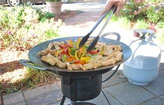 how to make a plow disc cooker
