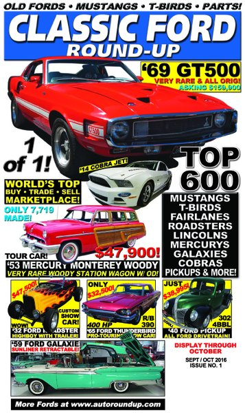 Classic Ford Round-Up (Sept / Oct) 2016