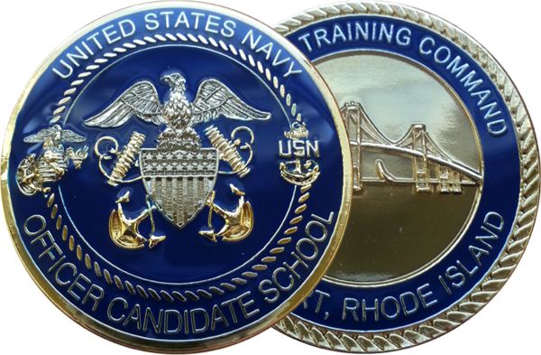 Officer candidate school coin cyclone coins dba hudson enterprises - Ocs officer candidate school ...