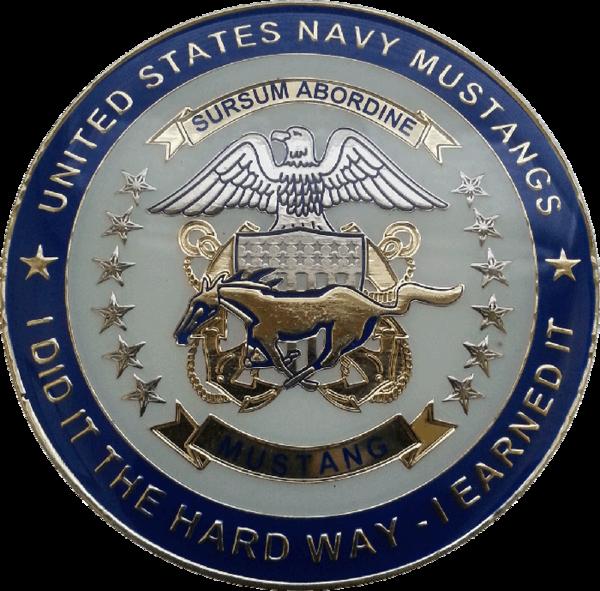 Us Navy Mustang Medallion Cyclone Coins Dba Hudson