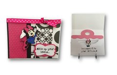 handmade greeting cards with a pocket to hold your gift cards, Birthday card