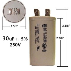 50 mfd 440 vac oval motor run capacitor capacitorwarehouse