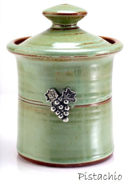 Garlic Pot - Vineyard | OREGON STONEWARE STUDIO
