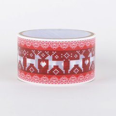 Christmas Gift Wrapping Tape, Reindeer, SKU: DT480151