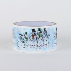 Christmas Gift Wrapping Tape, Snowmen, SKU: DT480153
