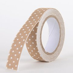 Fabric Decorative Tape, Dots, SKU: DT009