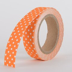 Fabric Decorative Tape, Dots, SKU: DT001