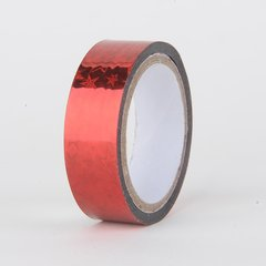 Decorative Tape, Holographic, Red Star, SKU: DT150163