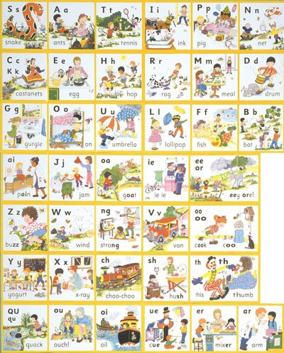 Jolly Phonics Activity Books   In Print Letters