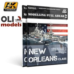 Modelling Full Ahead 2 / NEW ORLEANS CLASS Book - AK Interactive 895