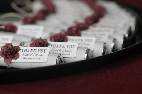 Burgundy Wedding Favors Wedding Favors Graduation Party Favors Unique Wedding Favors