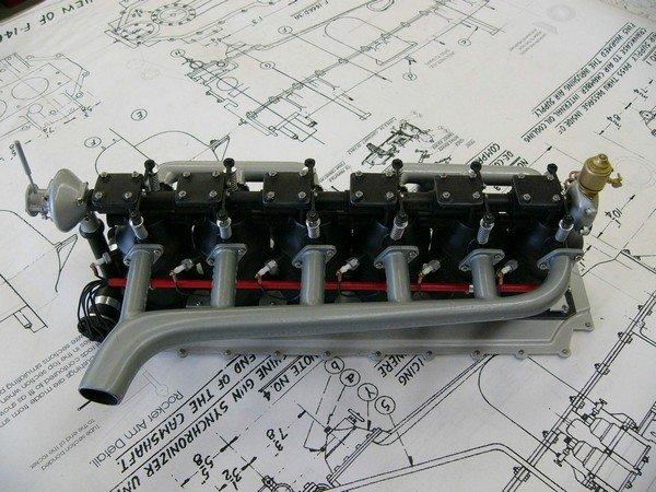 Mercedes Model Engine Arizona Aircraft Replicas Models