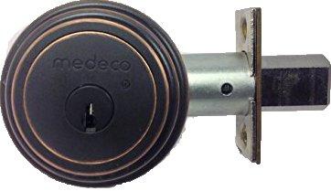 Medeco 11tr503 Maxum Residential Deadbolt High Security